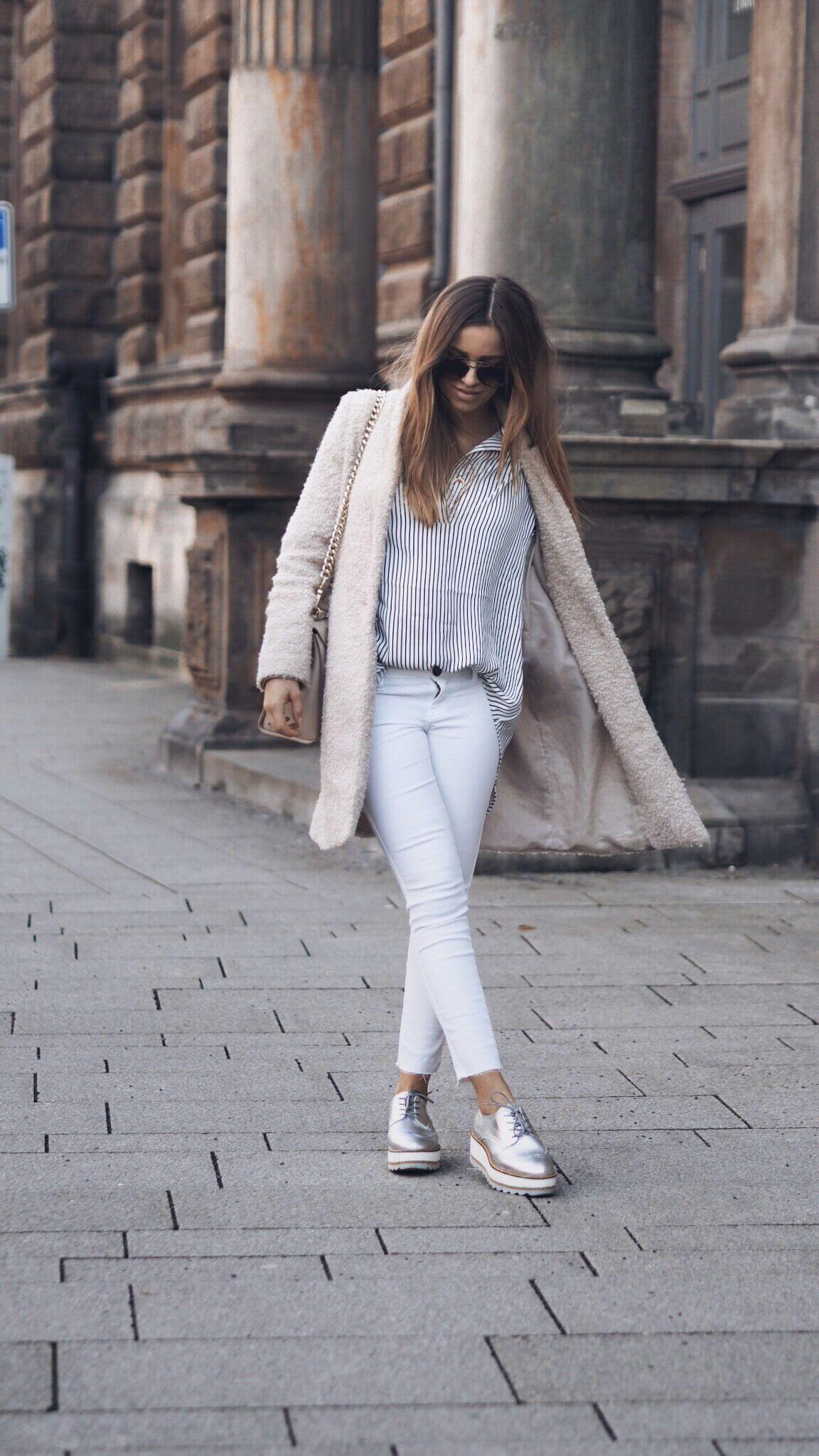 Beeindruckend Blaue Schuhe Kombinieren Dekoration Von Bei Diesem Outfit Habe Ich Ganz Schlichte